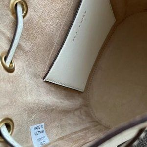 Tory Burch T Monogram Perforated Bucket Bag